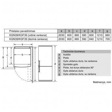 Bosch KGN397LEP 7