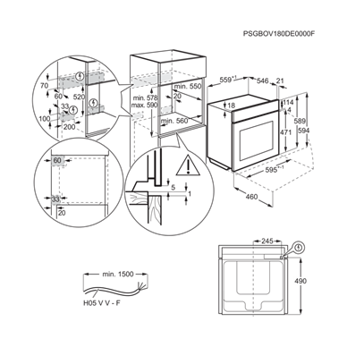 Electrolux EOB9S31WX 10
